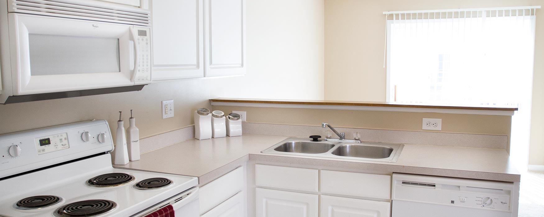 LC New Albany Park | New Albany Apartments | Bentley III Kitchen