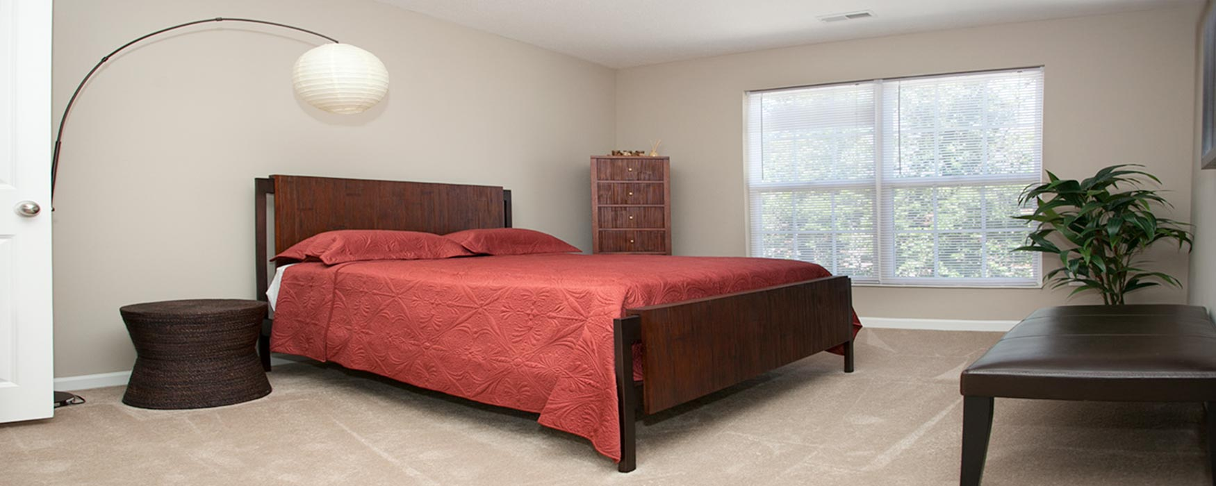 LC New Albany Park | New Albany Apartments | Chase Bedroom