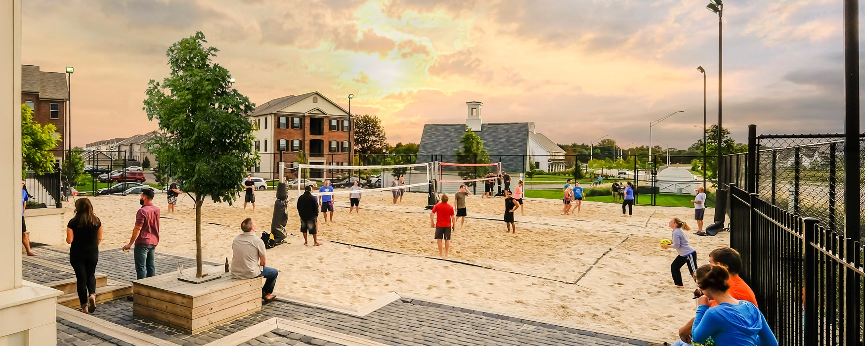 Lifestyle Communities | LC Paddock | Sand Volleyball