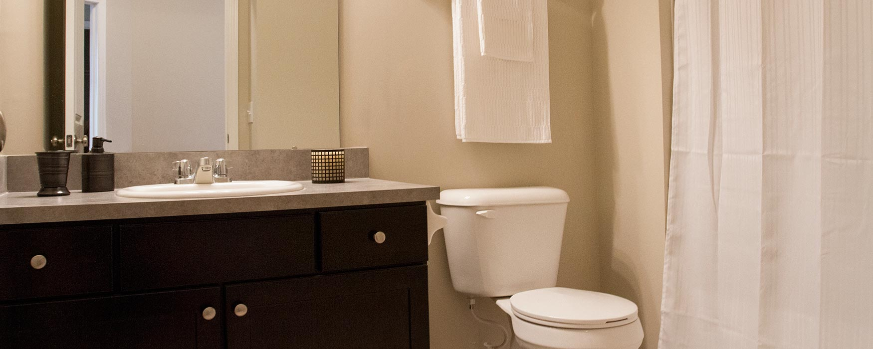 LC Preserve Crossing | Gahanna Apartments | Greystone II Bathroom