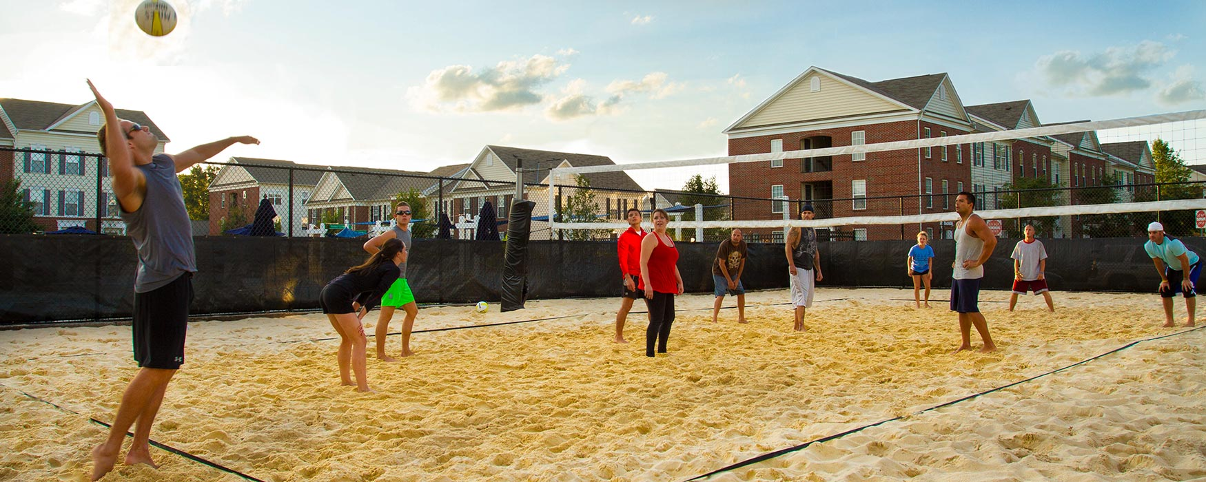 LC Preserve Crossing | Gahanna Apartments | Volleyball Courts