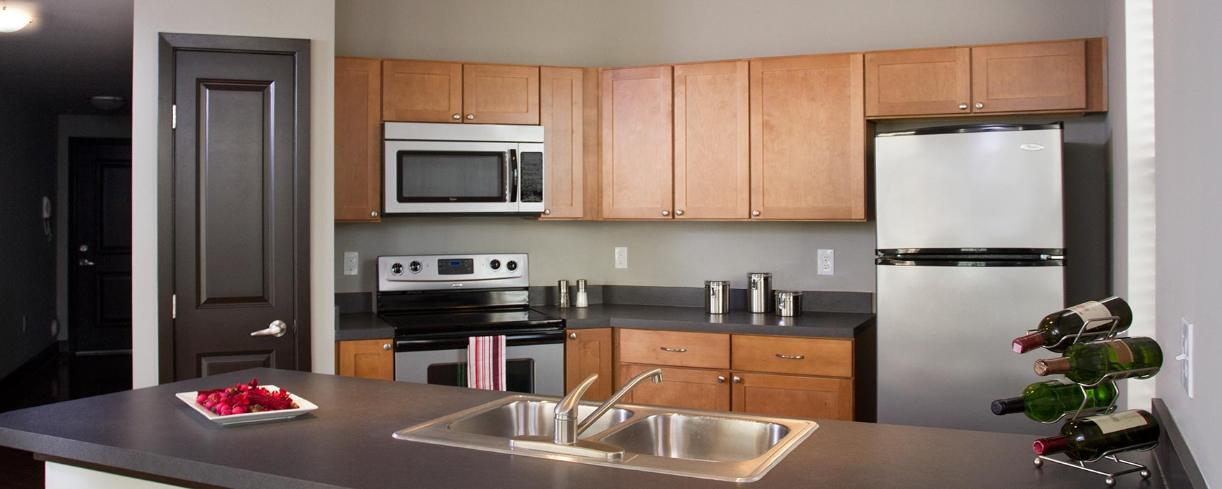 LC Riversouth | Downtown Columbus Apartments | Cambridge Kitchen