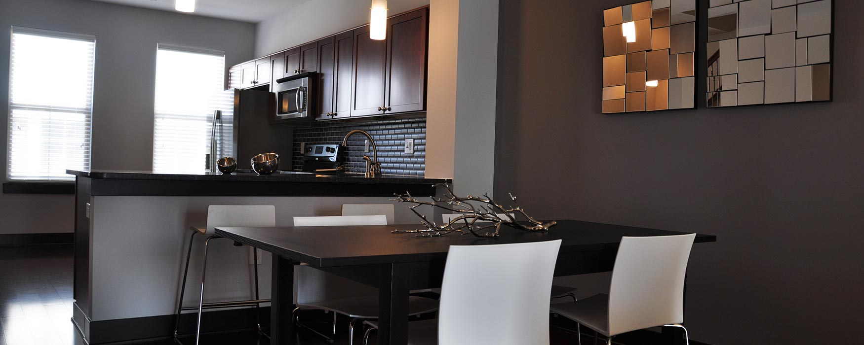 LC Riversouth | Downtown Columbus Apartments | Durham Kitchen