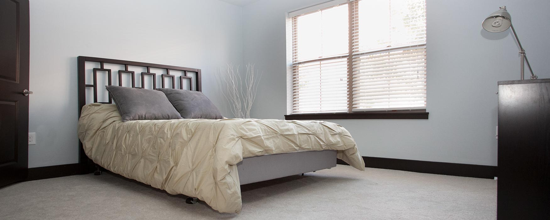 LC Riversouth | Downtown Columbus Apartments | Georgetown Bedroom