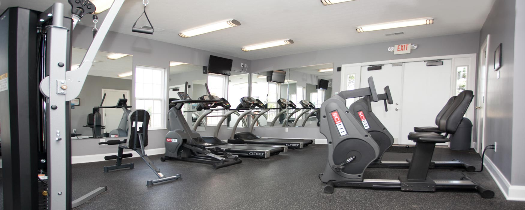LC Sunbury Mills | Sunbury Apartments | Fitness Center