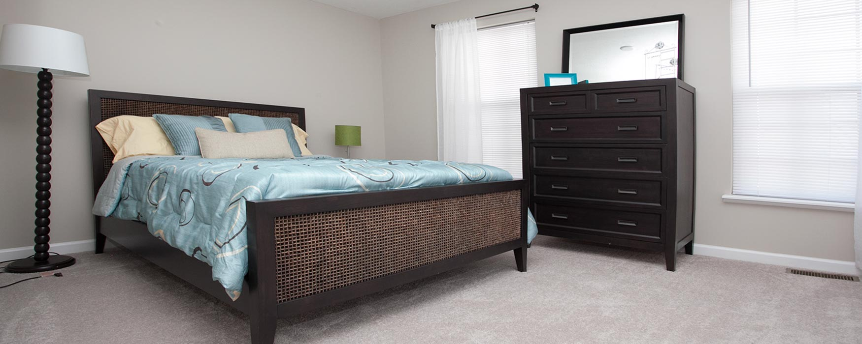 LC The Mill | Georgetown Apartments | Bentley III Flat Bedroom