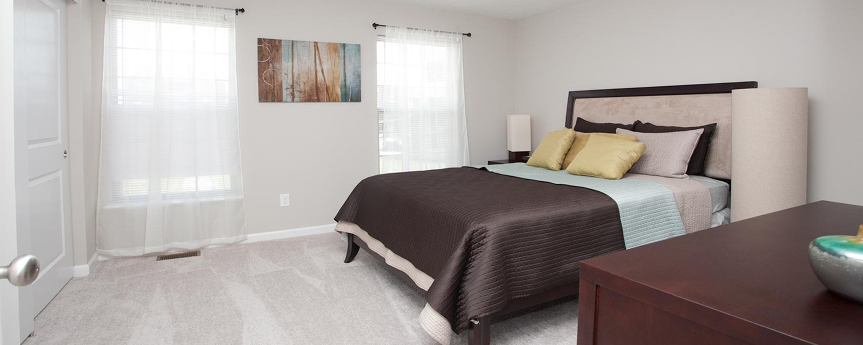 LC The Mill | Georgetown Apartments | Bentley II Bedroom