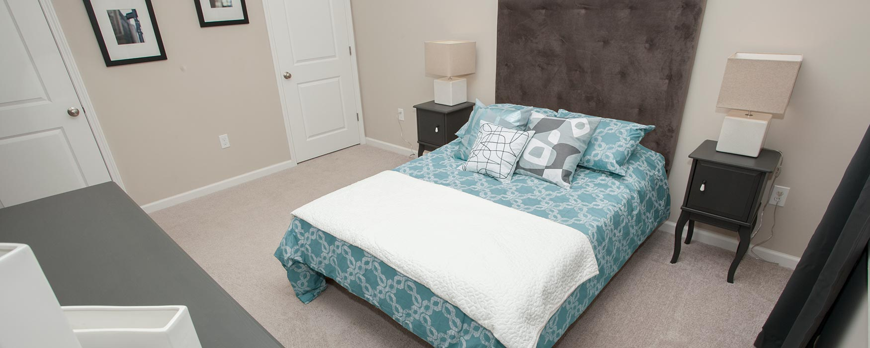 LC The Mill | Georgetown Apartments | Bentley Flat Bedroom